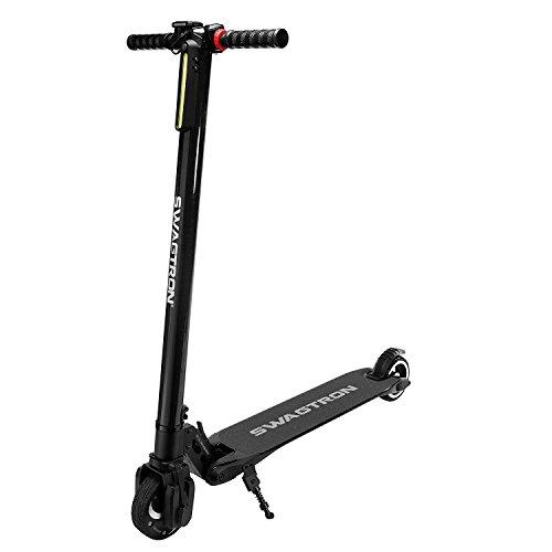 (スワグトロン) SWAGTRON Swagger High Speed Adult Electric Scooter 電動キックボード 超軽量カーボン 2016 (並行輸入品) shumaman