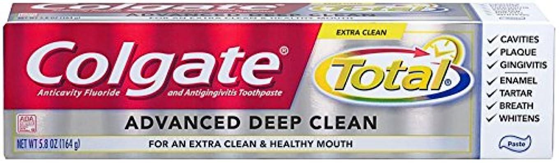 導体備品慰めColgate Total Advanced Clean Toothpaste 5.8 oz by Colgate [並行輸入品]