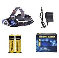ヘッドライト,屋外多機能ロングショット登山釣り防水ヘッドライト (サイズ さいず : #A)