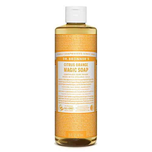 ドクターブロナー マジックソープ(magic soap) シトラスオレンジ 473ml ネイチャーズウェイ