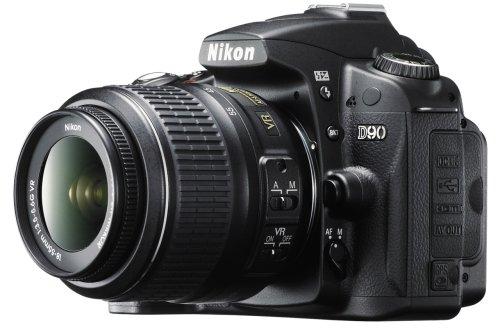 Nikon デジタル一眼レフカメラ D90 AF-S DX 18-55 VRレンズキット D90LK18-55