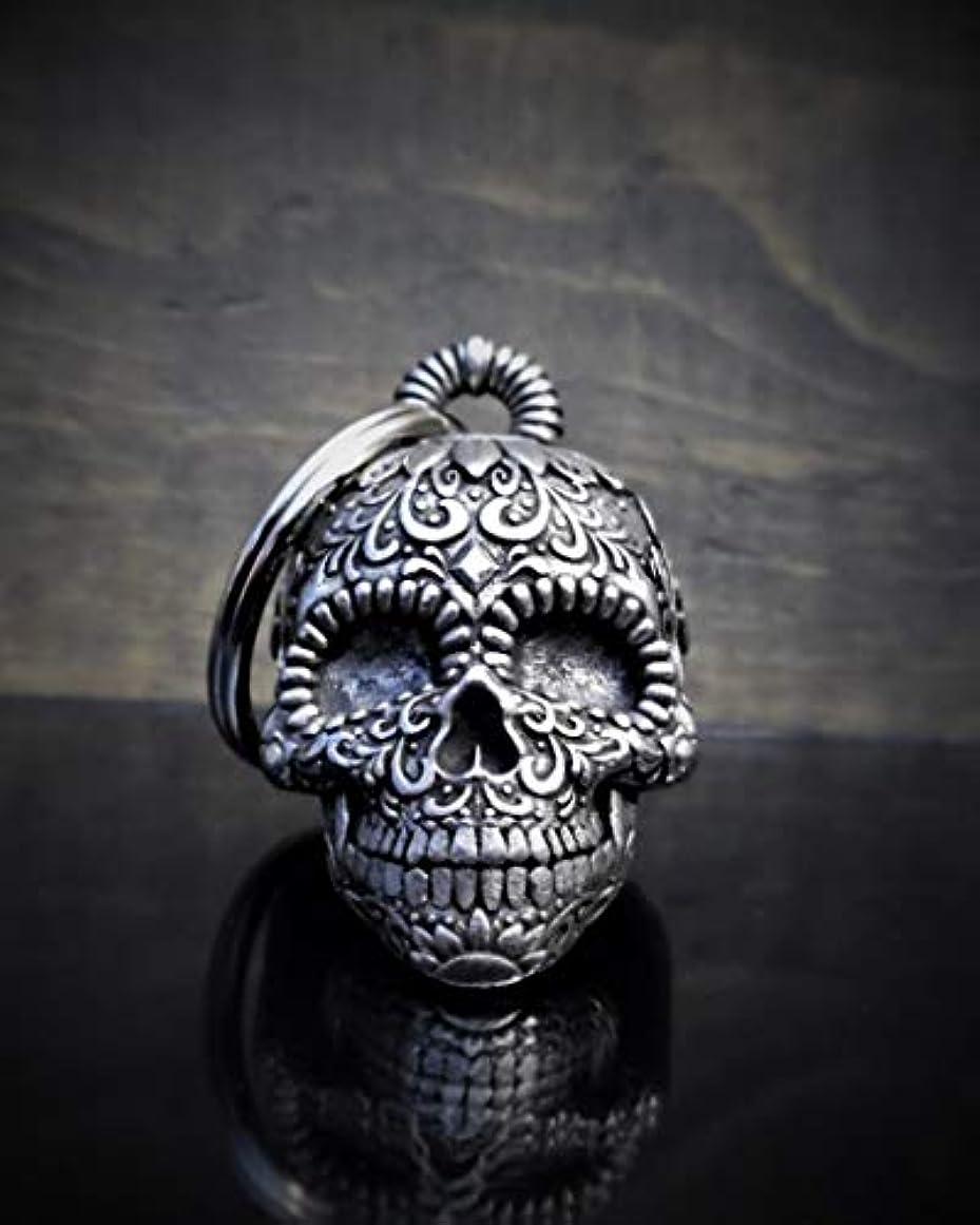 ダイバーピーブ概してSugar Skull 3Dオートバイライド ベル