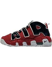 """Nike Air More Uptempo GS """" BULLS(Hoop Pack)""""(ナイキ エア モア アップテンポ """" BULLS(Hoop Pack)"""" #415082-600) [J.Nセレクト] [並行輸入品]"""