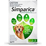 SIMPARICA for Dogs Green Pack 3 Chews