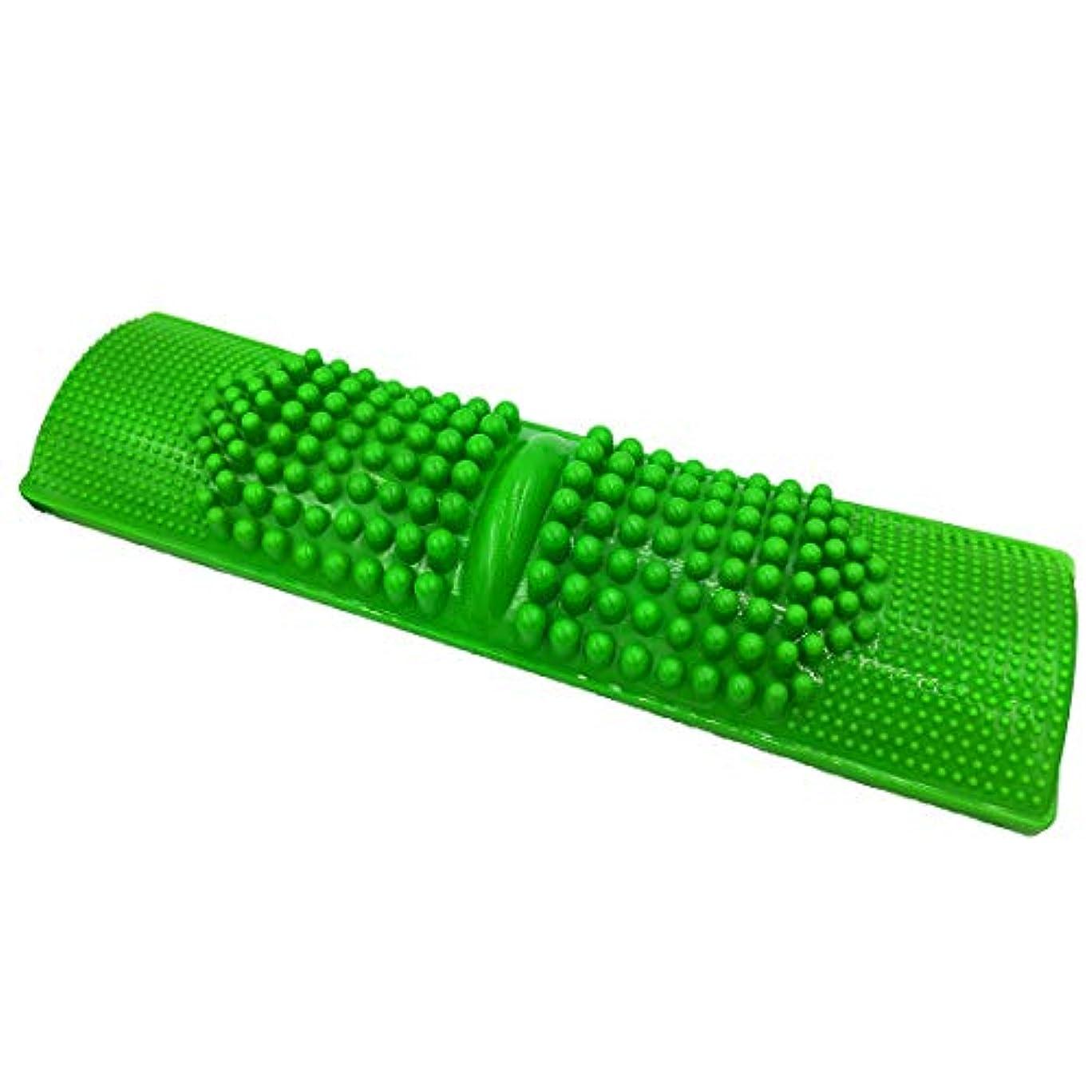 伴う最終司令官Andexi 足つぼマッサージ 足つぼマット 足つぼ 足踏み 足裏刺激 健康雑貨 サイズ:40*11cm 緑