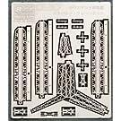 1/700 サウスダコタ級カタパルト/クレーンセット ( 3S-29)