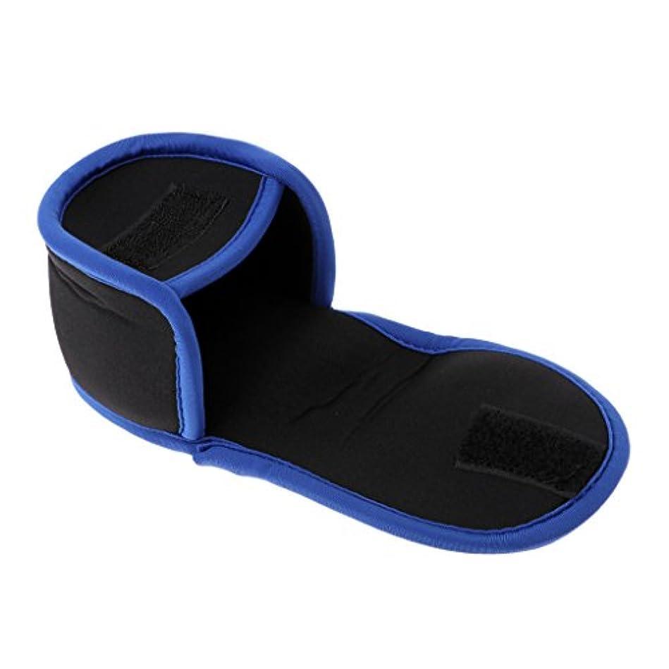 愛撫ビルマ修理工Perfk リールバッグ ポッチ カバー 釣具 左右 滑り止め 揺れ防ぐ 青色