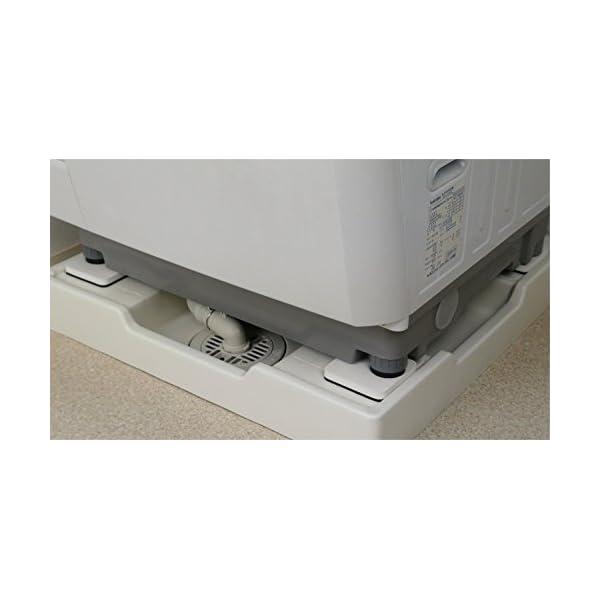 カクダイ 洗濯機用防振パッド 437-500の紹介画像6