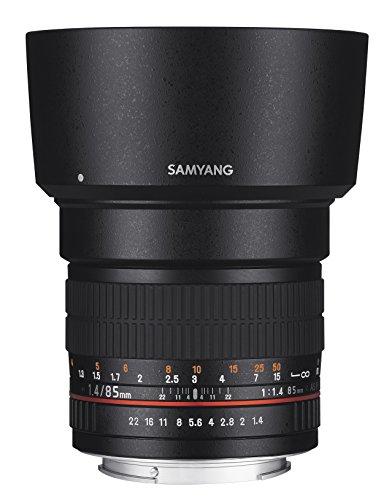 SAMYANG 単焦点 レンズ 85mm F1.4 ニコン AE用 フルサイズ対応