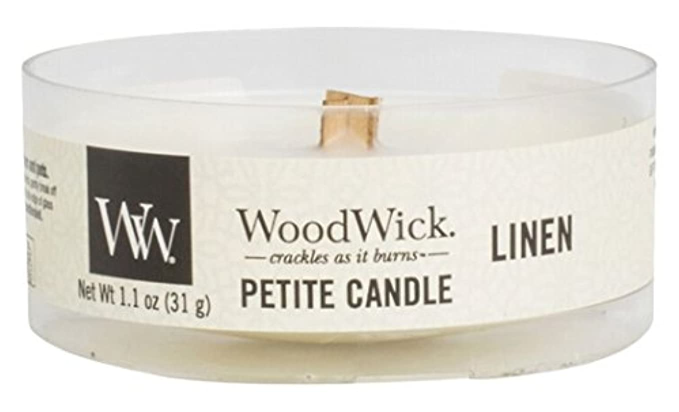スタジオブランデー木曜日Wood Wick ウッドウィック  プチキャンドル リネン