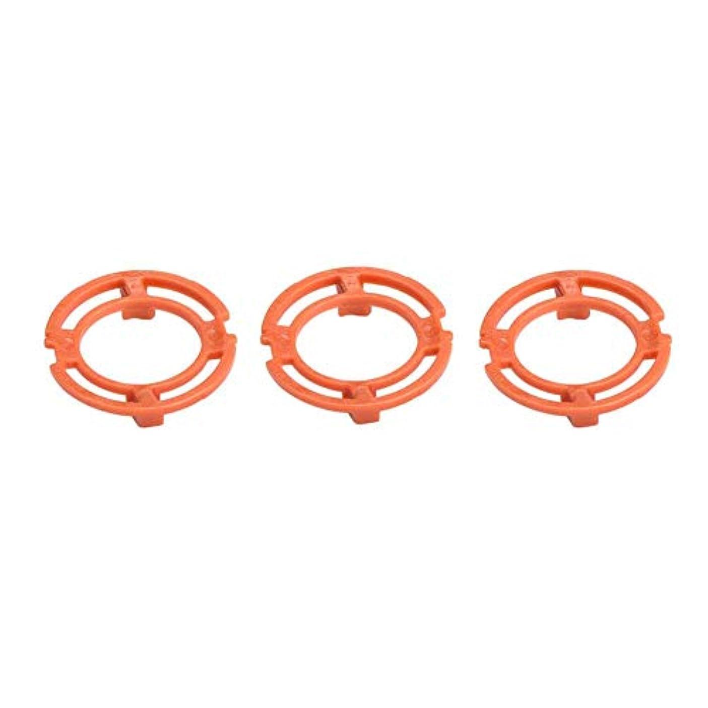 ピニオン薄いジュニアGorgeri ABS 3PCSシリーズ7000 9000 RQ12モデルのオレンジブレード固定リング