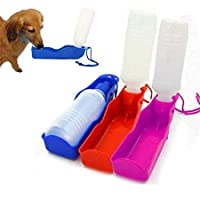 Lowis Lily Portable Pet Dog Cat Outdoor Travel Water Bowl Bottle Feeder Drinking Fountain - Portable Water Fountain