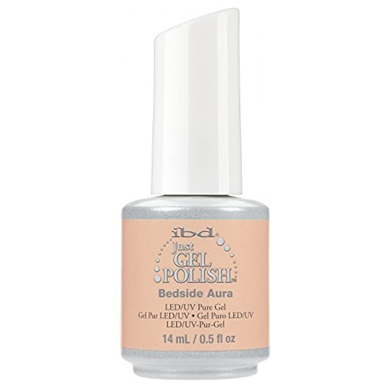 ガラガラ魅力商標ibd Just Gel Nail Polish - 2017 Nude Collection - Bedside Aura - 14ml / 0.5oz