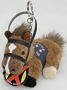AVANTI 5Sキーホルダー オルフェーヴル 第58回有馬記念 全長約11cm 高さ約9cm 横巾約7cm