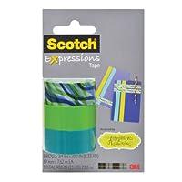 Scotchマジックテープ式/3/4x 300インチ3-rolls/パック
