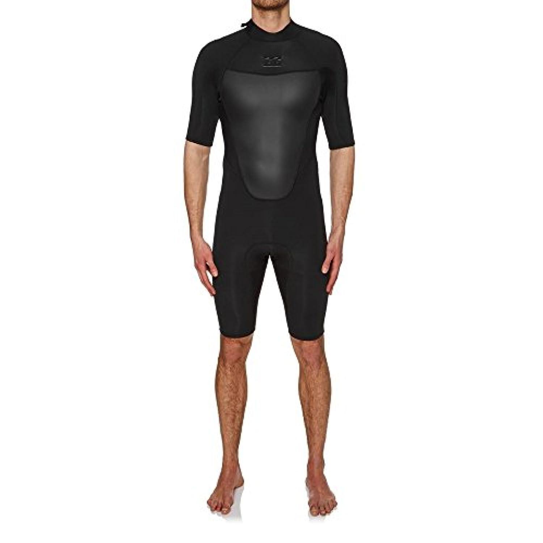 (ビラボン) Billabong メンズ 水着?ビーチウェア ウェットスーツ Billabong Absolute 2mm 2018 Back Zip Short Sleeve Shorty Wetsuit [並行輸入品]