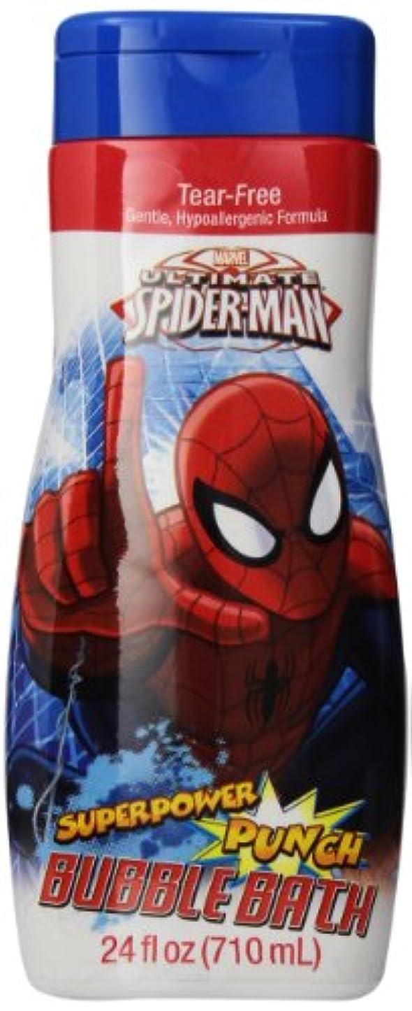リブ礼儀何でもSpiderman Bubble Bath Superpower Punch 710 ml (並行輸入品)