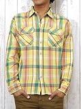 (アビレックス)AVIREX ネルシャツ シャツ チェック ワーク デイリー フランネル 6135031 M 061クリーム