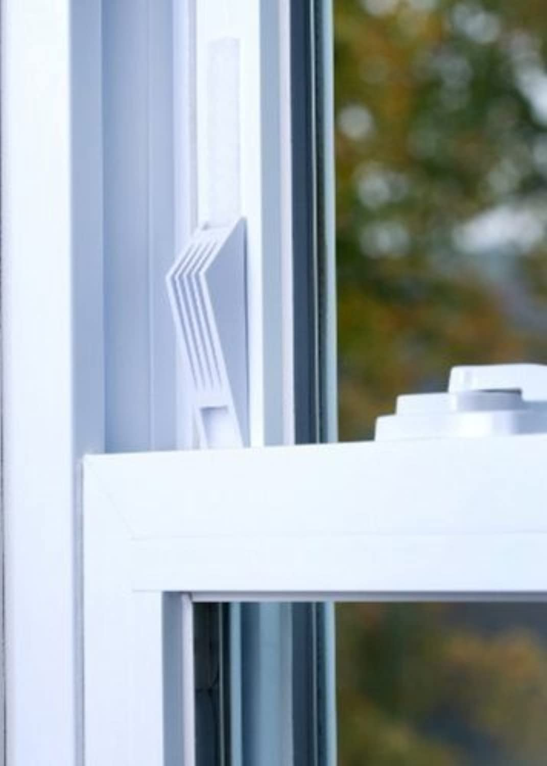 (2) Cresci Products Window Wedge WHITE color by Window Wedge