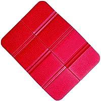 VORCOOL 折りたたみ座布団 8つ折り 軽量 コンパクト 運びに便利 防水 断熱 キャンプ、ピクニック、日陰、公園、家族旅行に適用(赤)
