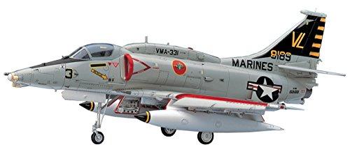 ハセガワ 1/48 アメリカ海兵隊 A-4M スカイホーク プラモデル PT33