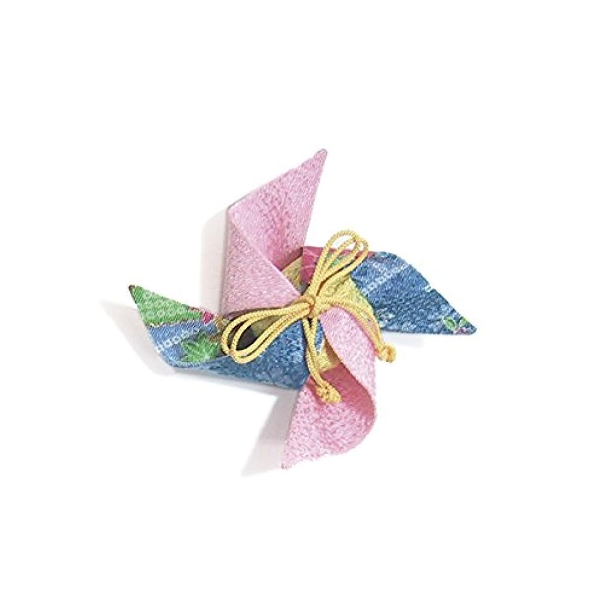 トランスペアレントデモンストレーションバックアップ匂袋 風車 (ピンク)