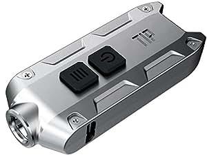 【本体色:Grey / Nichia NVSL219B LED搭載】NITECORE TIP LEDキーライト