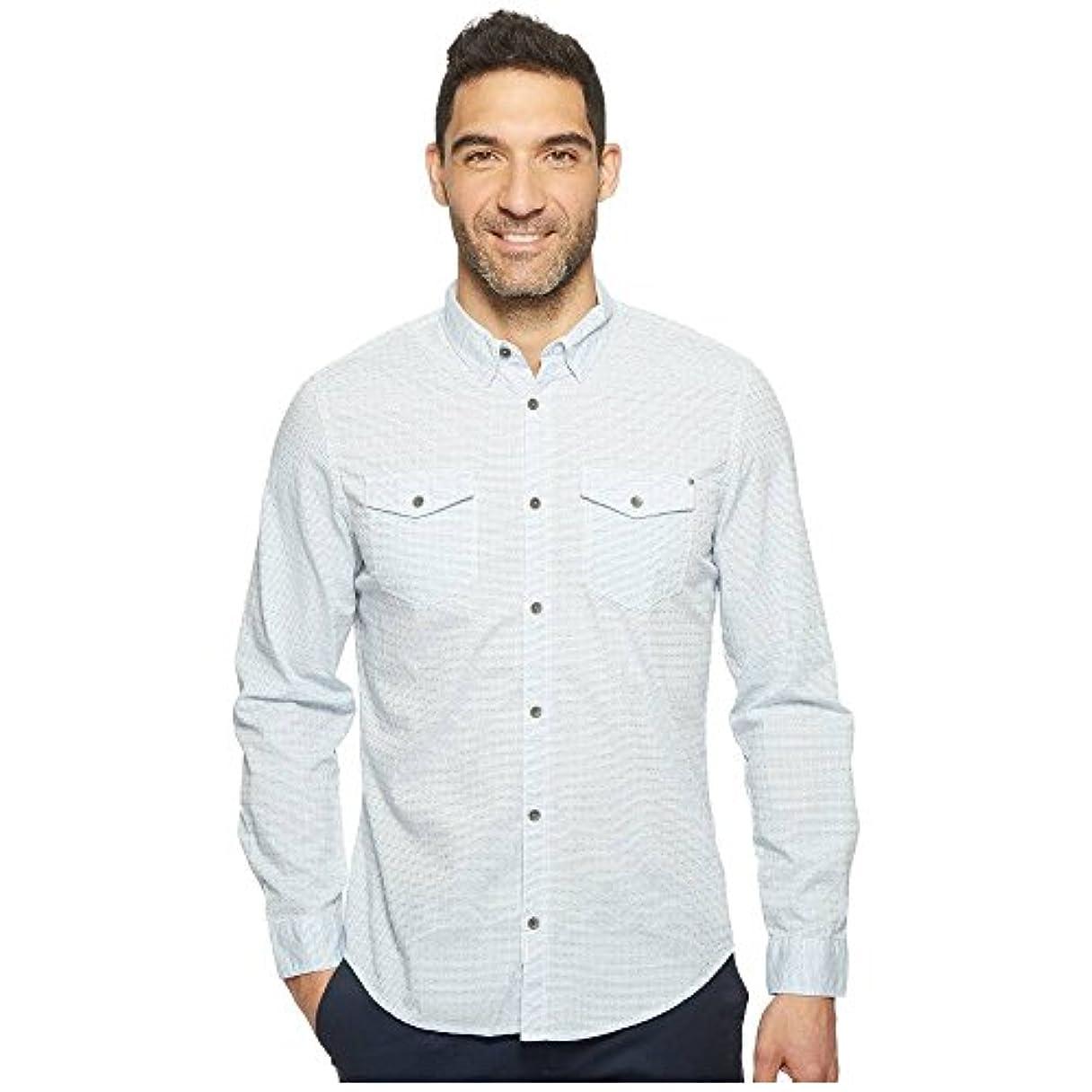 そうワイド均等に(カルバンクライン) Calvin Klein Jeans メンズ トップス シャツ Float Pattern Dobby Weave Button Down [並行輸入品]