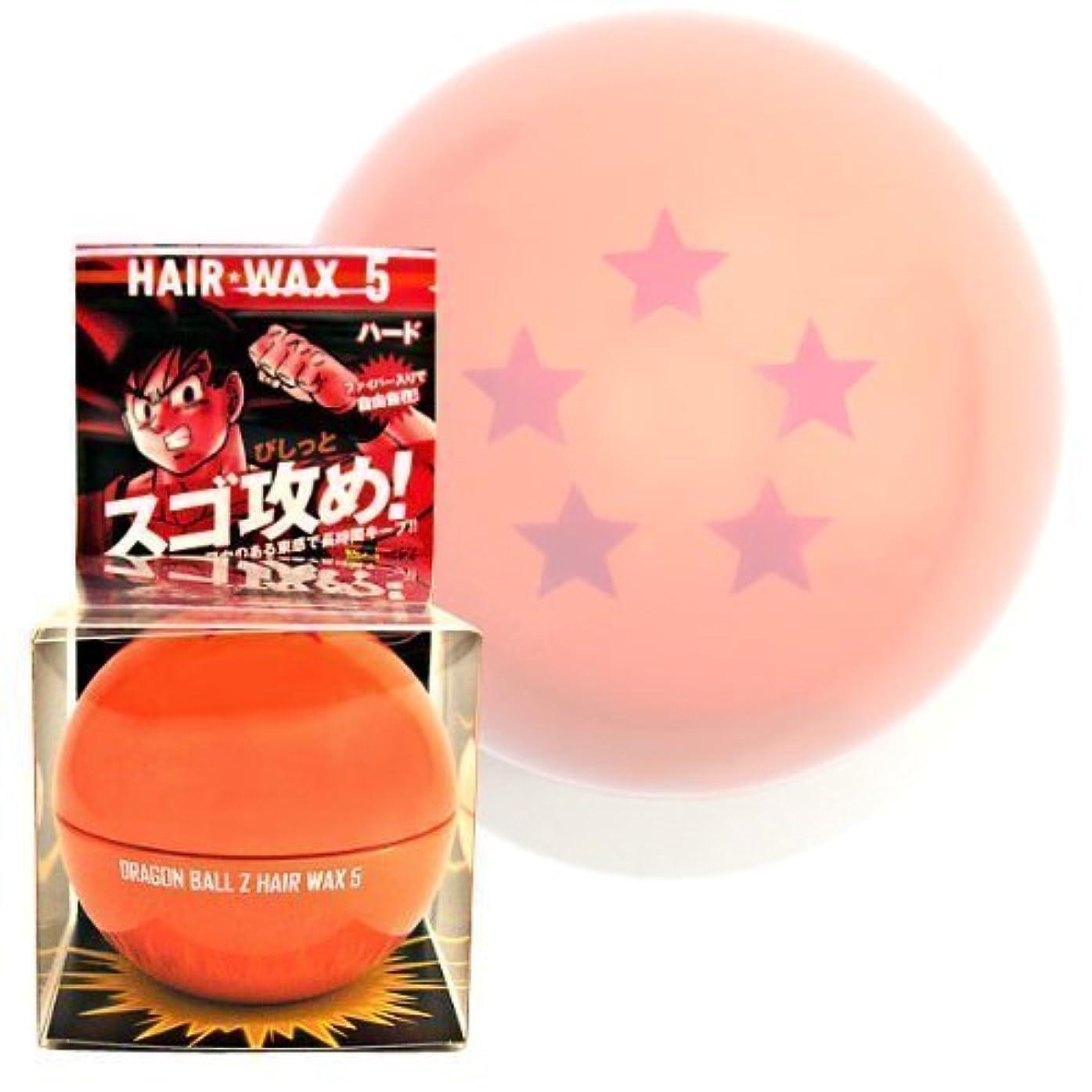 赤クールりんごドラゴンボールZヘアワックス5(ハード)80g