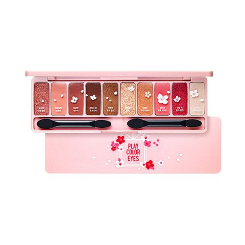 ETUDE HOUSE Play Color Eyes Cherry Blossom / エチュードハウス プレイカラーアイズチェリーブロッサム 1g x10 [NEW] [並行輸入品]