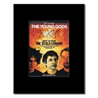 YOUNG GODS - London Scala 2006 Mini Poster - 13.5x10cm