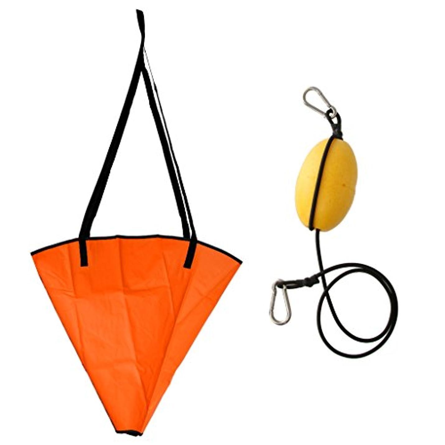 服を洗う意気込み冷えるDYNWAVE ドローグ シーアンカー ドリフト 牽引ロープ スローライン ボート カヤック用 アクセサリー 耐久性