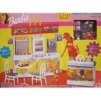 Barbie(バービー) - McDonald's (マクドナルド) Fun Time! Restaurant Playset - 2001 Mattel ドール 人形 フィギュア(並行輸入)