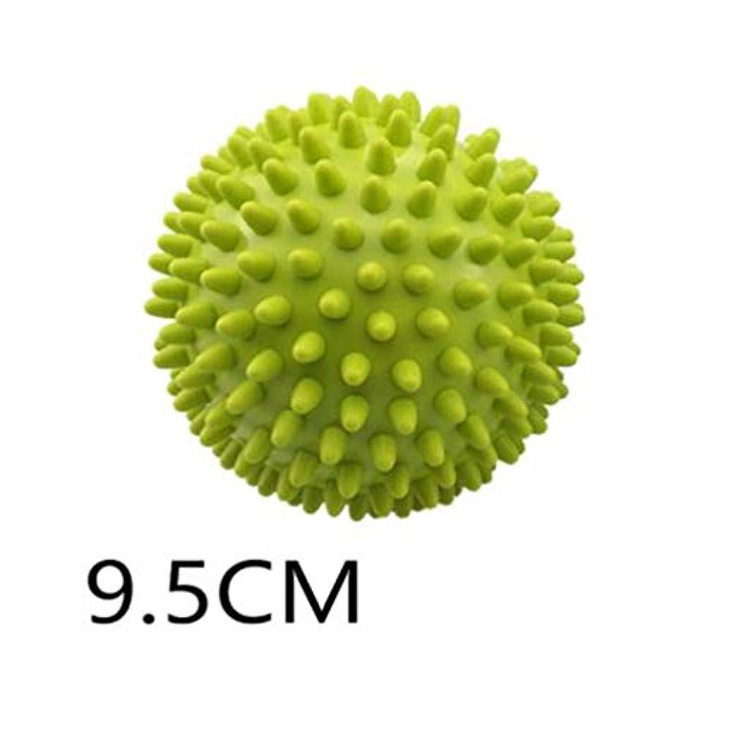 ぼんやりした衣服周術期とげのボール - グリーン