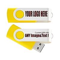 USB 2.0フラッシュドライブパックSwivelデザインメモリスティックFoldストレージキー親指ドライブペンカスタマイズされたロゴPromoギフト 512MB ATU-001