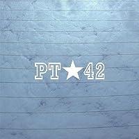 ヘルメットアートPat Tillman 42ノートパソコンPt Asuアリゾナ州状態ホワイト車オートノートブック壁ステッカーデカール壁アートMacbook装飾ウィンドウデコレーションホーム装飾Bike by cybersavs