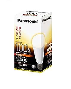 パナソニック LED電球 電球100W形相当 1520 lm 電球色相当 広配光タイプ E26口金 LDA14LGK100W