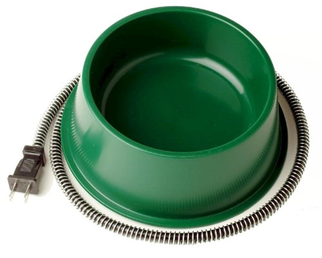 使い込む操作可能正気Farm Innovators Model QT-1 1-Quart Heated Bowl, Green, 25 Watts by Farm Innovators