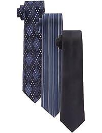 (はるやま) HARUYAMA 8種類から選べる 洗えるネクタイ(ナロータイ 6cm幅) 3本セット 洗濯ネット付き