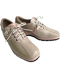 [ビジェ ヴァノ] VIGE VANO 9731 レディース ラムスキン ソフト革 履き易い ゆったり 国産 通勤靴 仕事靴 外反母趾 ライトオーク/ピンクゴールド