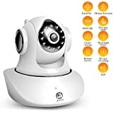 JOOAN IP Camera-1080P HD Home Security Camera with Two-Way Audio,Motion Detection,Night Vision,PTZ for Baby Pet Elderly Monitor, Dome WirelessNetwork Security Surveillance Camera System