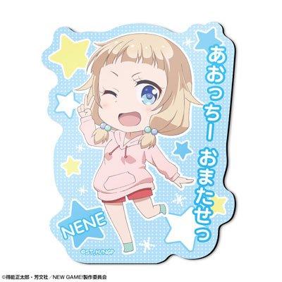 TVアニメ NEW GAME! マグネットシート デザイン07 桜ねね