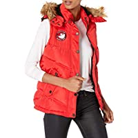 CANADA WEATHER GEAR Womens Puffer Jacket Or Vest Down Alternative Coat