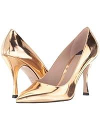 Stuart Weitzman(スチュアートワイツマン) レディース 女性用 シューズ 靴 ヒール Tippi 95 - Pure Rose Gold Specchio [並行輸入品]