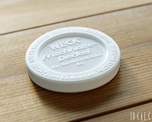 RoomClip商品情報 - ウェック(WECK) プラスティックカバー WE007 直径Sサイズ 【並行輸入品】