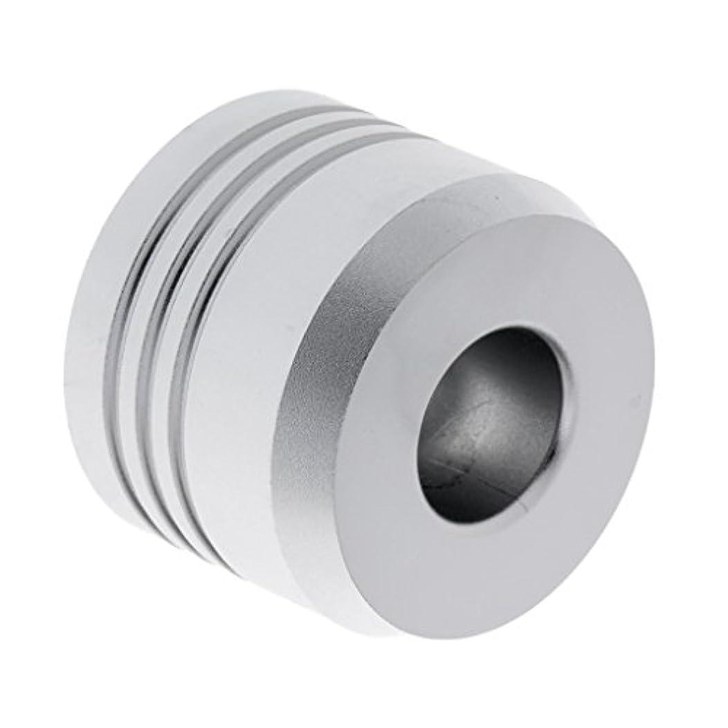 男らしい大通り意味のあるセーフティカミソリスタンド スタンド メンズ シェービング カミソリホルダー サポート 調節可能 シェーバーベース 2色選べ - 銀