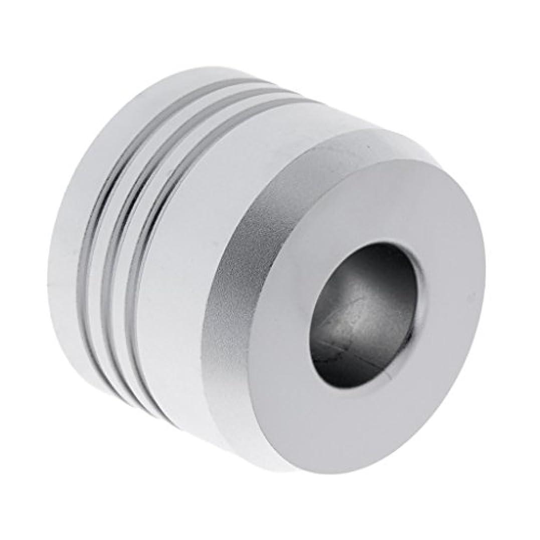 後継自治サークルセーフティカミソリスタンド スタンド メンズ シェービング カミソリホルダー サポート 調節可能 シェーバーベース 2色選べ - 銀
