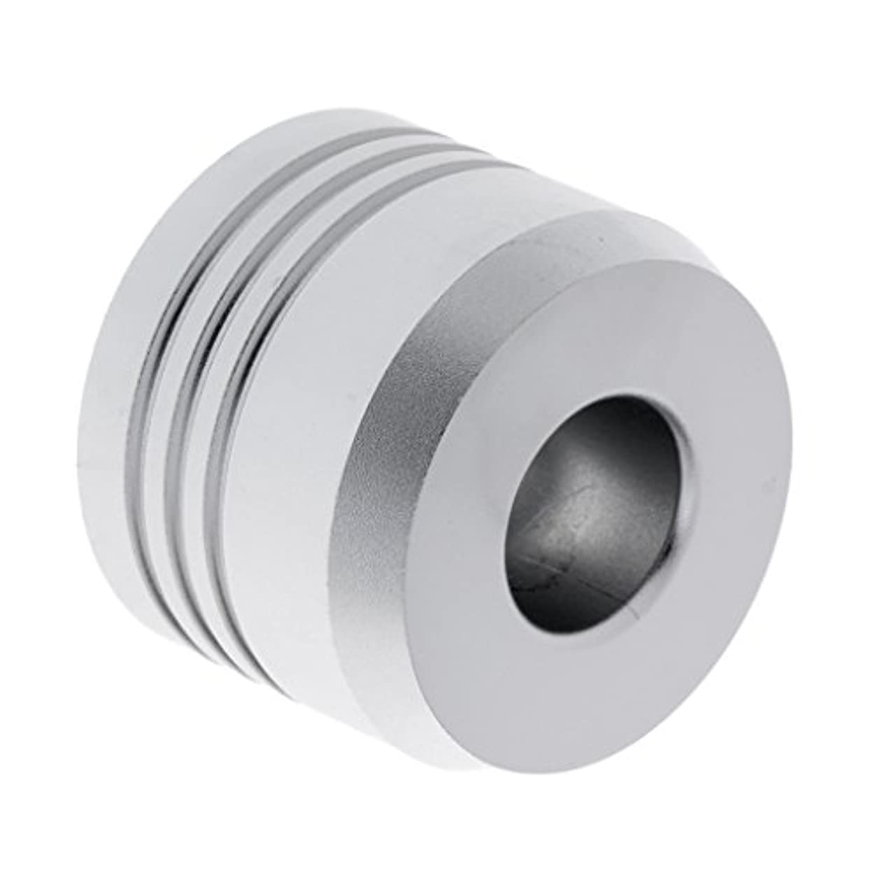 八百屋欠乏ベースセーフティカミソリスタンド スタンド メンズ シェービング カミソリホルダー サポート 調節可能 シェーバーベース 2色選べ - 銀