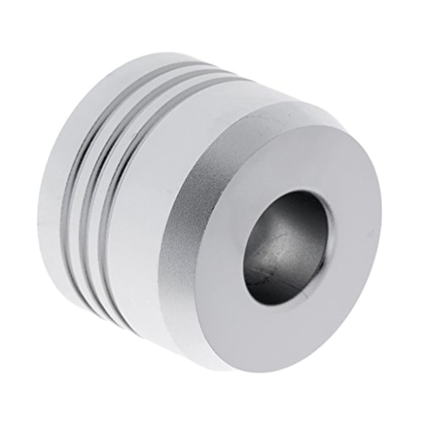 アレキサンダーグラハムベルクレジット犠牲セーフティカミソリスタンド スタンド メンズ シェービング カミソリホルダー サポート 調節可能 シェーバーベース 2色選べ - 銀