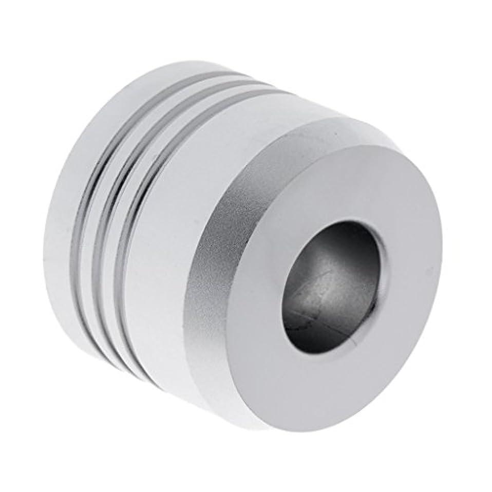プレゼンテーション黒板簡潔なセーフティカミソリスタンド スタンド メンズ シェービング カミソリホルダー サポート 調節可能 シェーバーベース 2色選べ - 銀